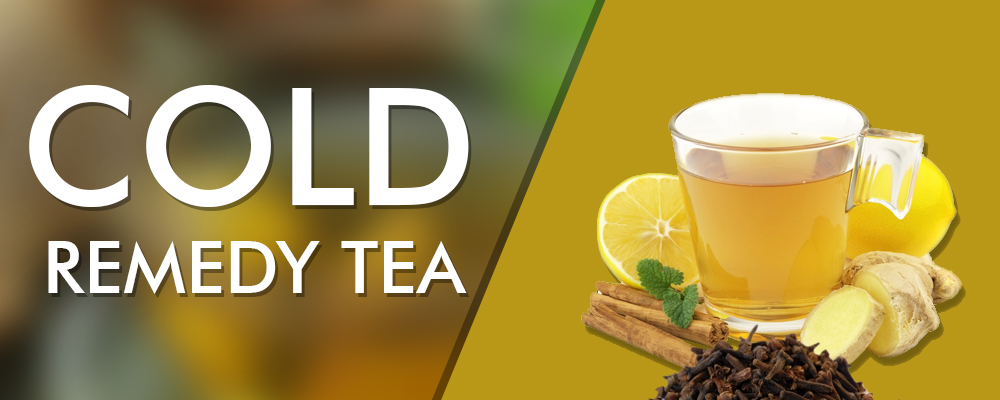 Cold Remedy Tea – Potentially and Holistically Health Beneficial