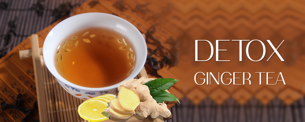 Detox Ginger Tea (Ginger, Lemon, Apple)