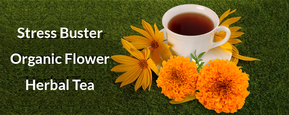 Drink Flower tea to improve health