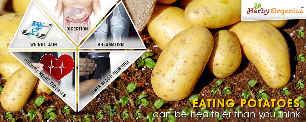 Eating Potatoes can be healthier than you think