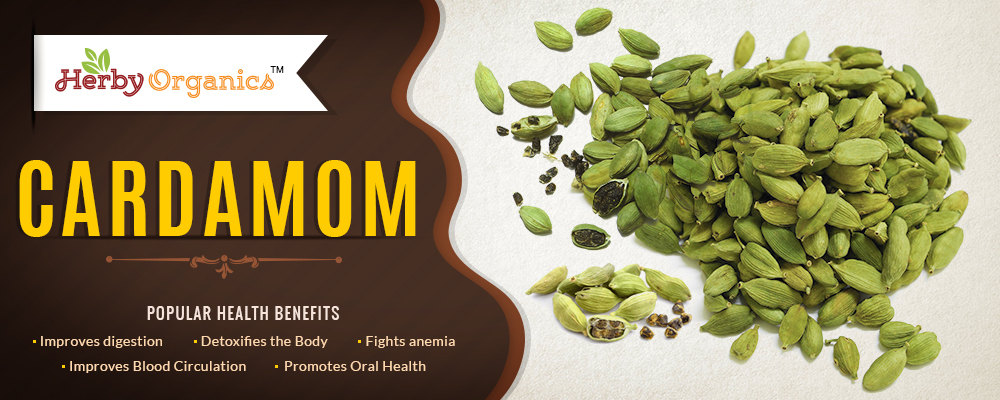 Flavour and health with Cardamom